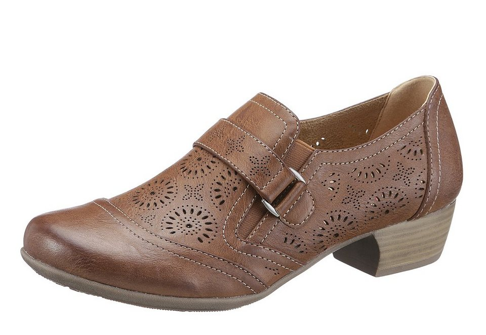 Hush Puppies Trotteur in braun