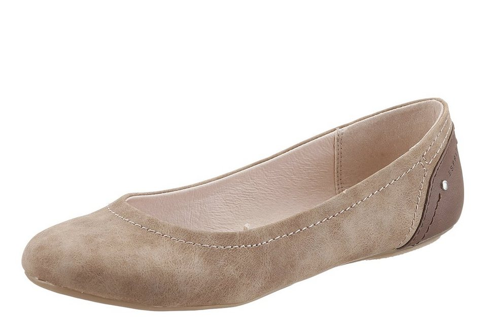 Esprit Ballerina in cognac used