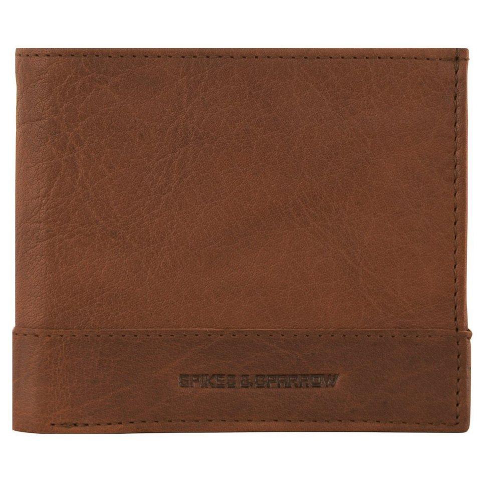 Spikes & Sparrow Bronco Wallets Geldbörse Leder 11,5 cm in brandy