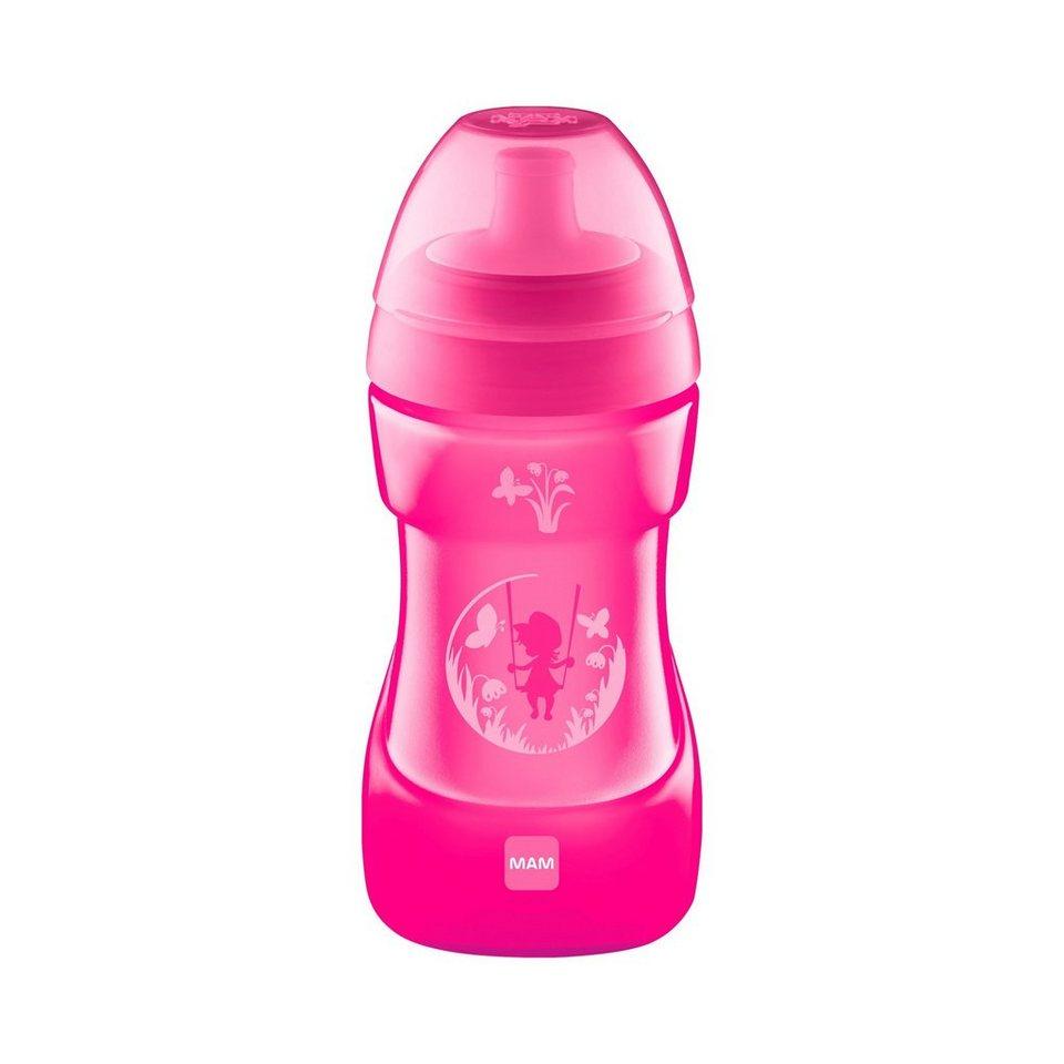 MAM Trinklernflasche Sports Cup 330ml in pink