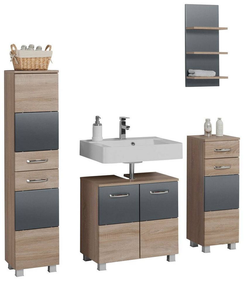 held m bel badm bel set trient 4 tlg kaufen otto. Black Bedroom Furniture Sets. Home Design Ideas
