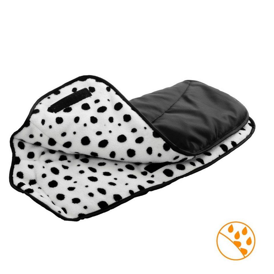 DIAGO Handwärmer für Kinderwagen in schwarz
