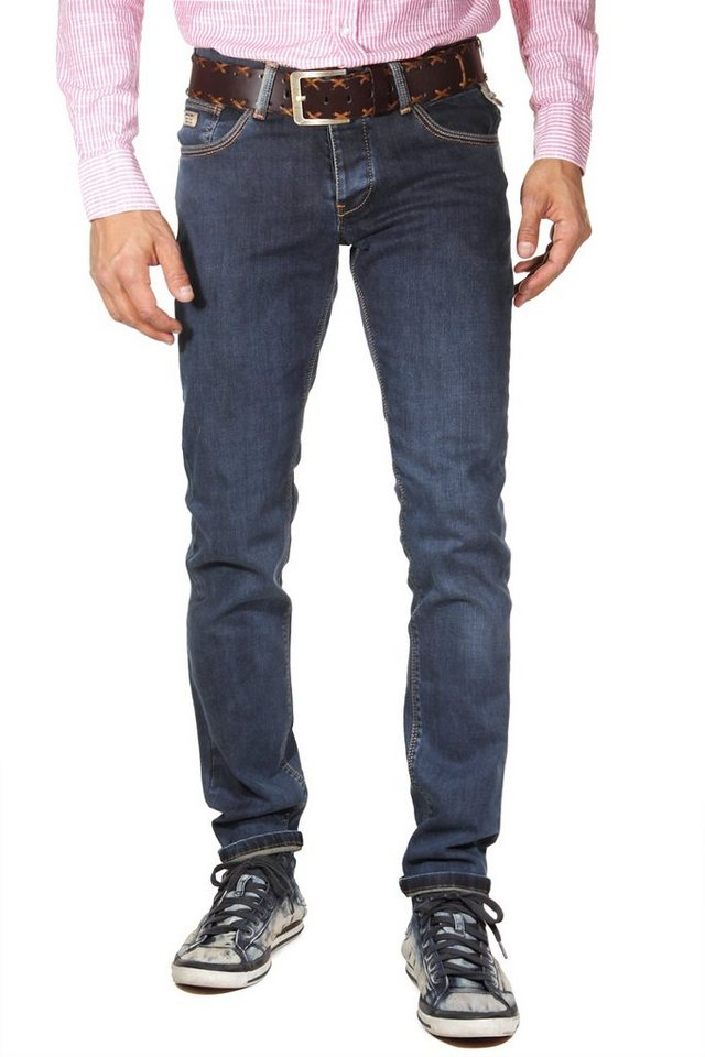 Bright Jeans Stretchjeans slim fit in blau