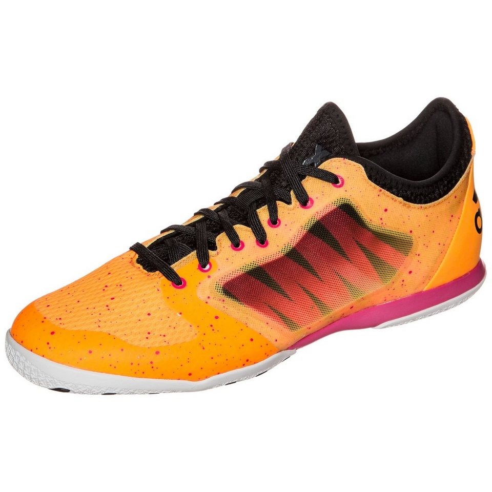 adidas Performance X 15.1 Court Indoor Fußballschuh Herren in orange / schwarz