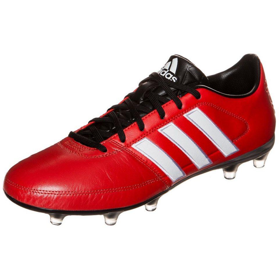 adidas Performance Gloro 16.1 FG Fußballschuh Herren in rot / schwarz
