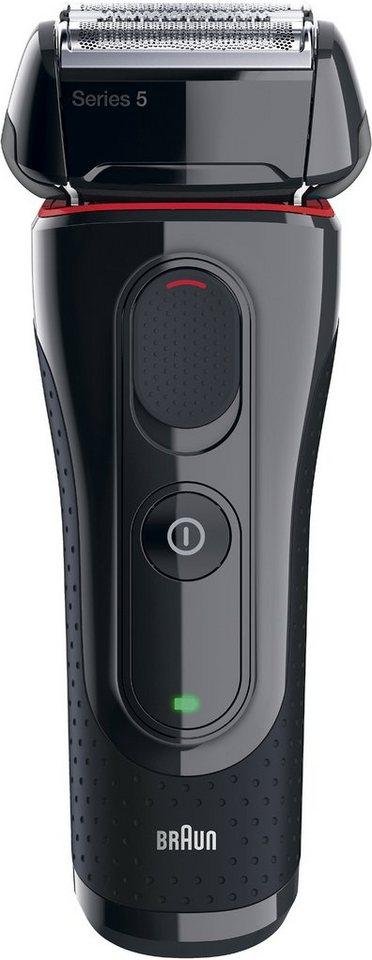 Braun Elektrorasierer Series 5 5030s, Akku/Netz in schwarz