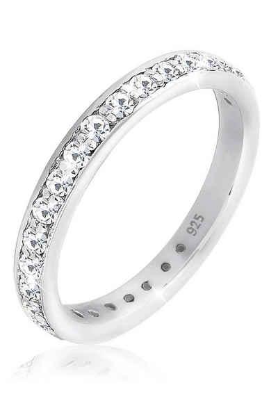 Elli Ring »Glamourös Swarovski Kristalle 925 Silber« Sale Angebote Cottbus