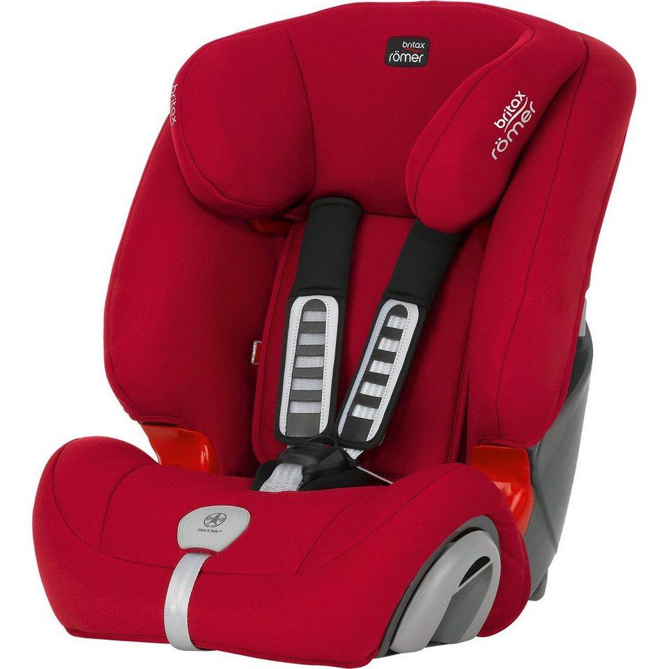 britax r mer auto kindersitz evolva 1 2 3 plus flame red. Black Bedroom Furniture Sets. Home Design Ideas