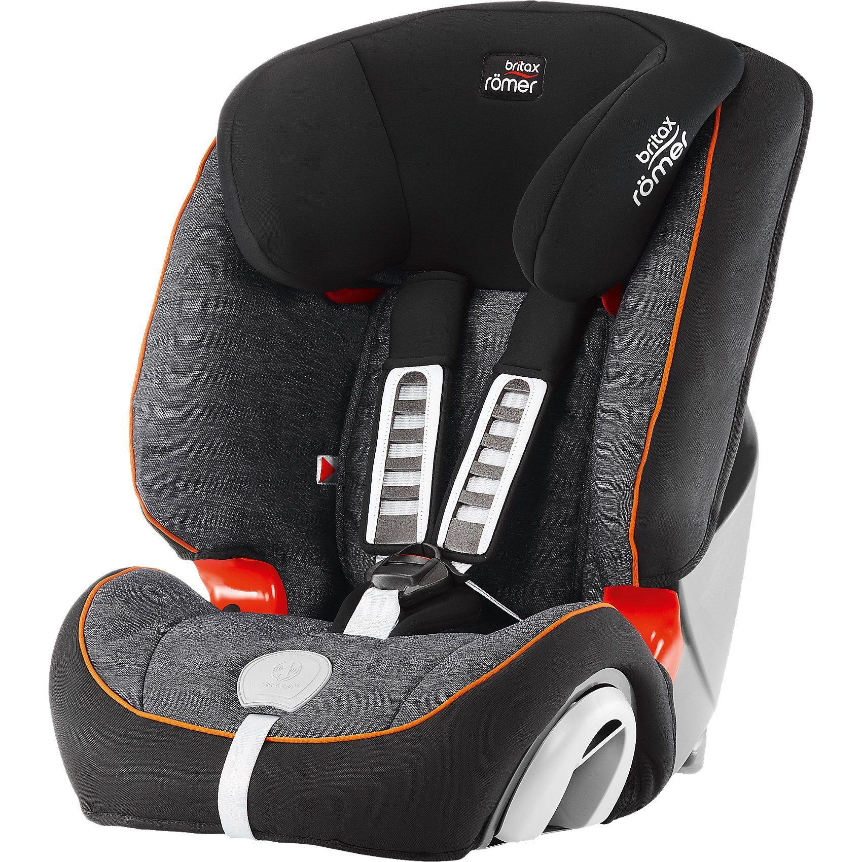 Britax Römer Auto-Kindersitz Evolva 1-2-3 Plus, Black Marble, 2016