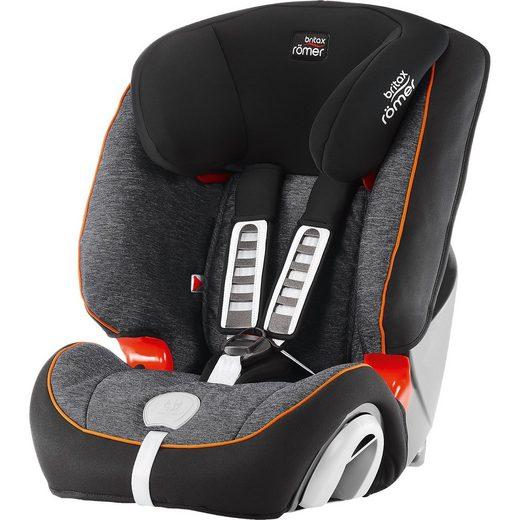 BRITAX RÖMER Auto-Kindersitz Evolva 1-2-3 Plus, Black Marble
