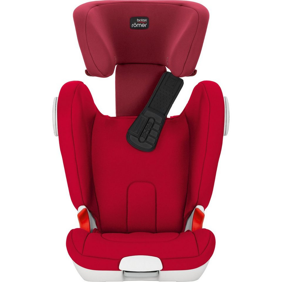 Britax Römer Auto-Kindersitz Kidfix XP Sict, Flame Red, 2016 in rot