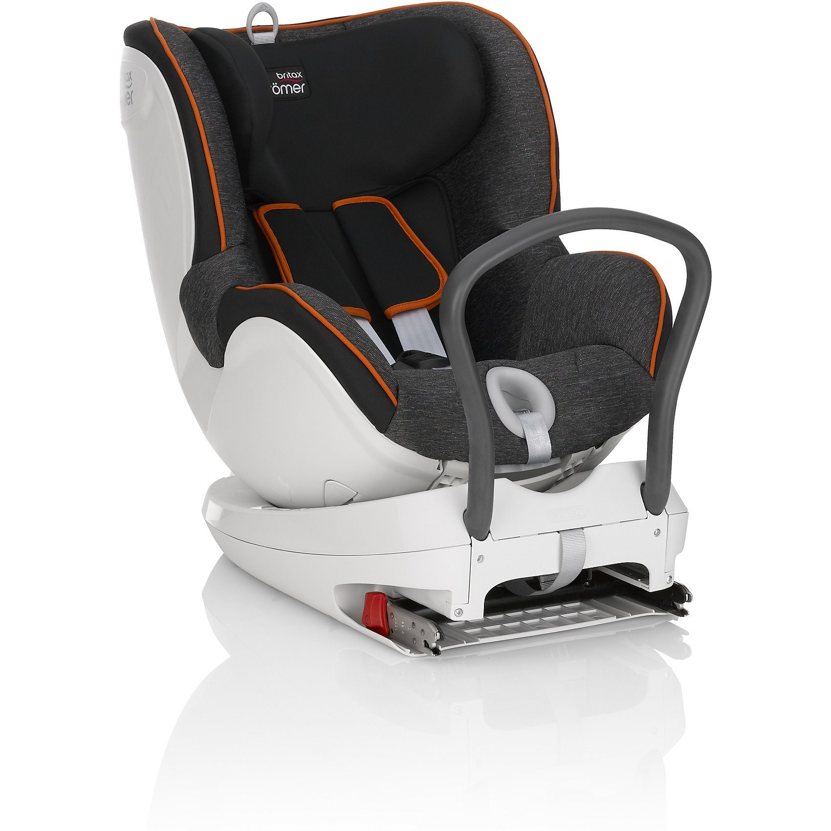 Britax Römer Auto-Kindersitz Dualfix, Flame Red, 2016