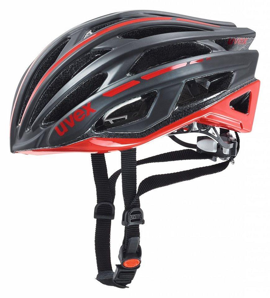 UVEX Fahrradhelm »race 5 Helm« in schwarz