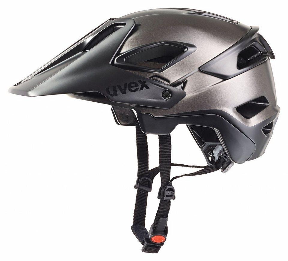 UVEX Fahrradhelm »jakkyl Helm« in grau