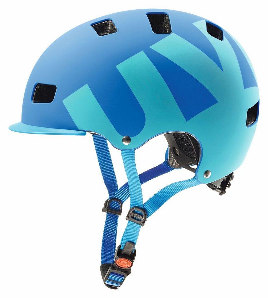 UVEX Fahrradhelm »hlmt 5 bike pro Helm« in blau