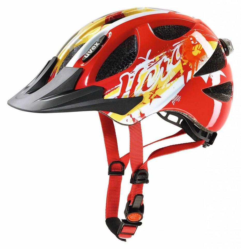 UVEX Fahrradhelm »hero Helm« in rot