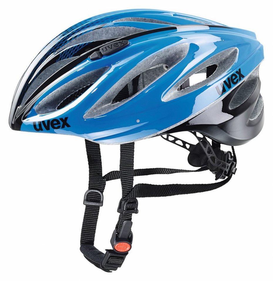 UVEX Fahrradhelm »boss race Helm« in blau