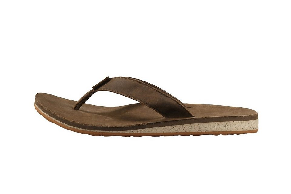 Teva Infradito »Classic Flip Premium Sandals Men Dark Earth« in braun