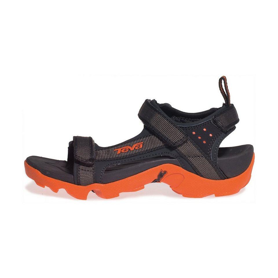 Teva Sandalen »Tanza Sandals Children Grey/Orange« in grau