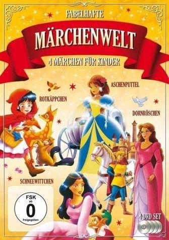 DVD »Fabelhafte Märchenwelt 4 Märchen für Kinder...«
