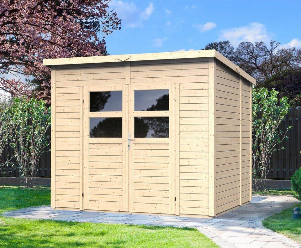 Gartenhaus »Felix 2«, BxT: 239x181 cm in natur