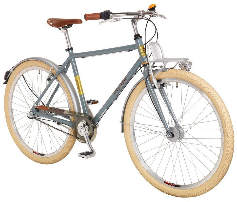 Citybike (Herren) »GENIESSER Urban, 71,12 cm (28 Zoll)« in grau