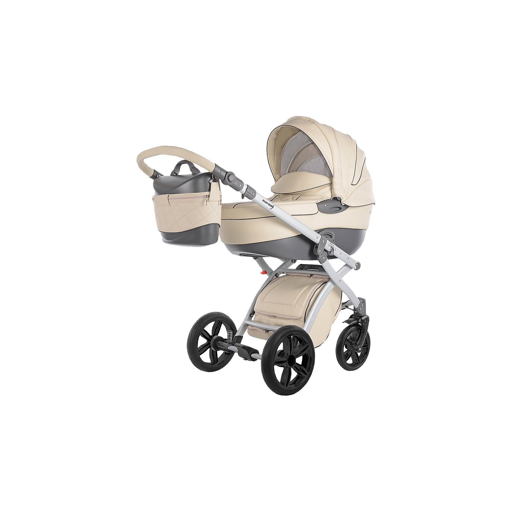 knorr-baby Kombi Kinderwagen Alive Eco Pure, ecru