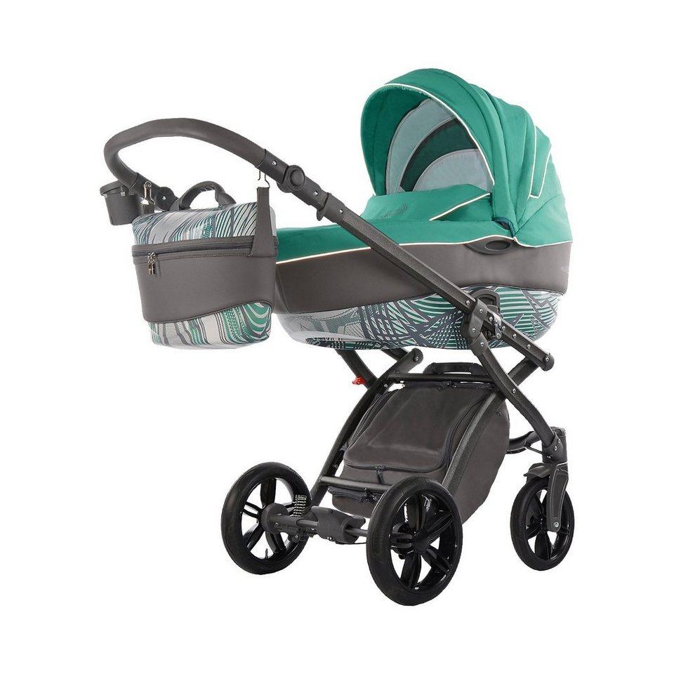 knorr-baby Kombi Kinderwagen Alive Energy, grün in grün