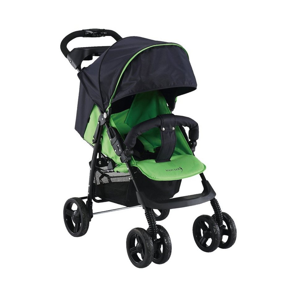 knorr-baby Sportwagen V-Easy Fold Happy Colour, grün in grün