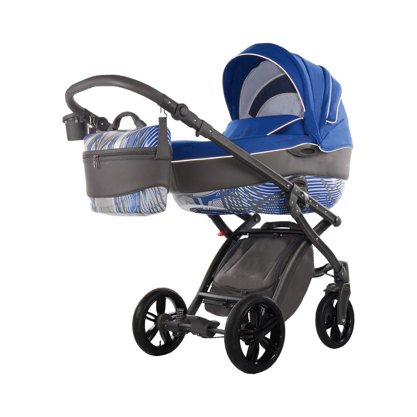 knorr-baby Kombi Kinderwagen Alive Energy, azurblau