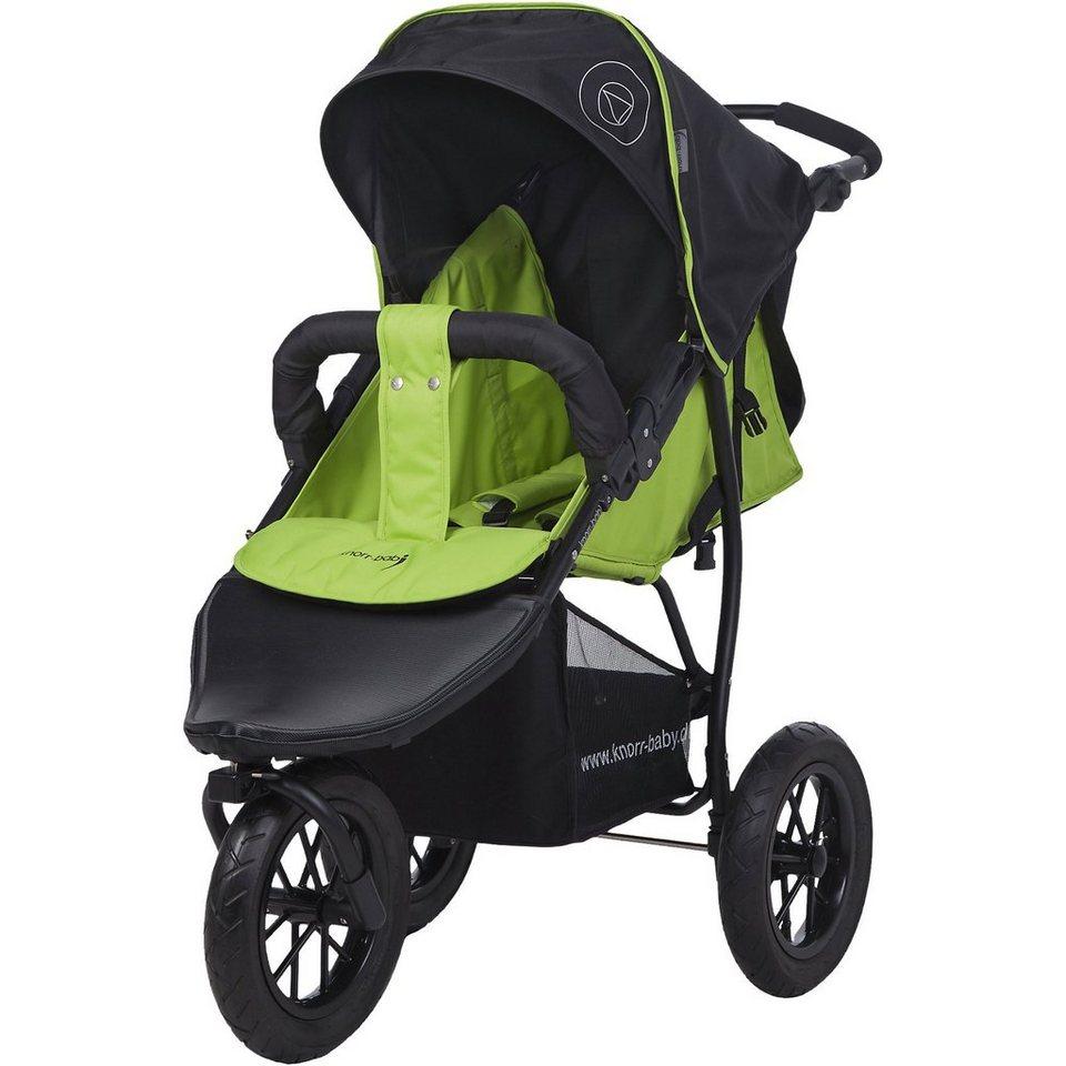 knorr-baby Jogger Joggy S Happy Colour mit Schlummerverdeck, grün in grün
