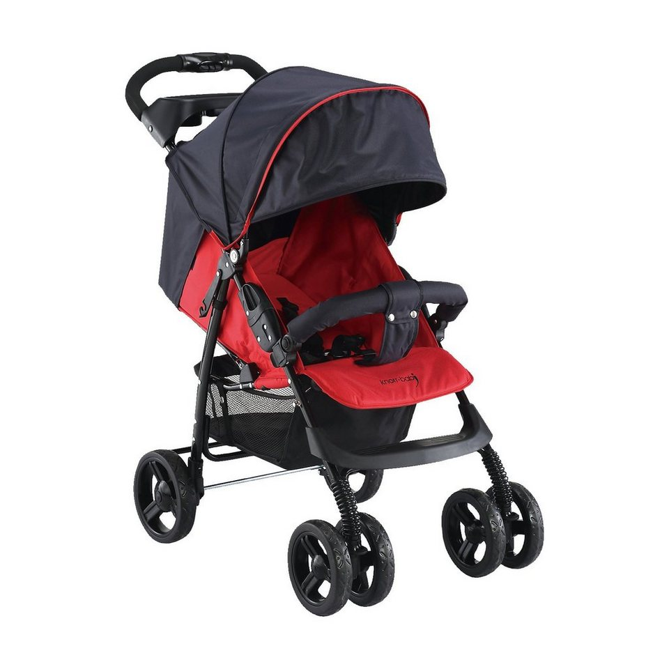knorr-baby Sportwagen V-Easy Fold Happy Colour, rot in rot