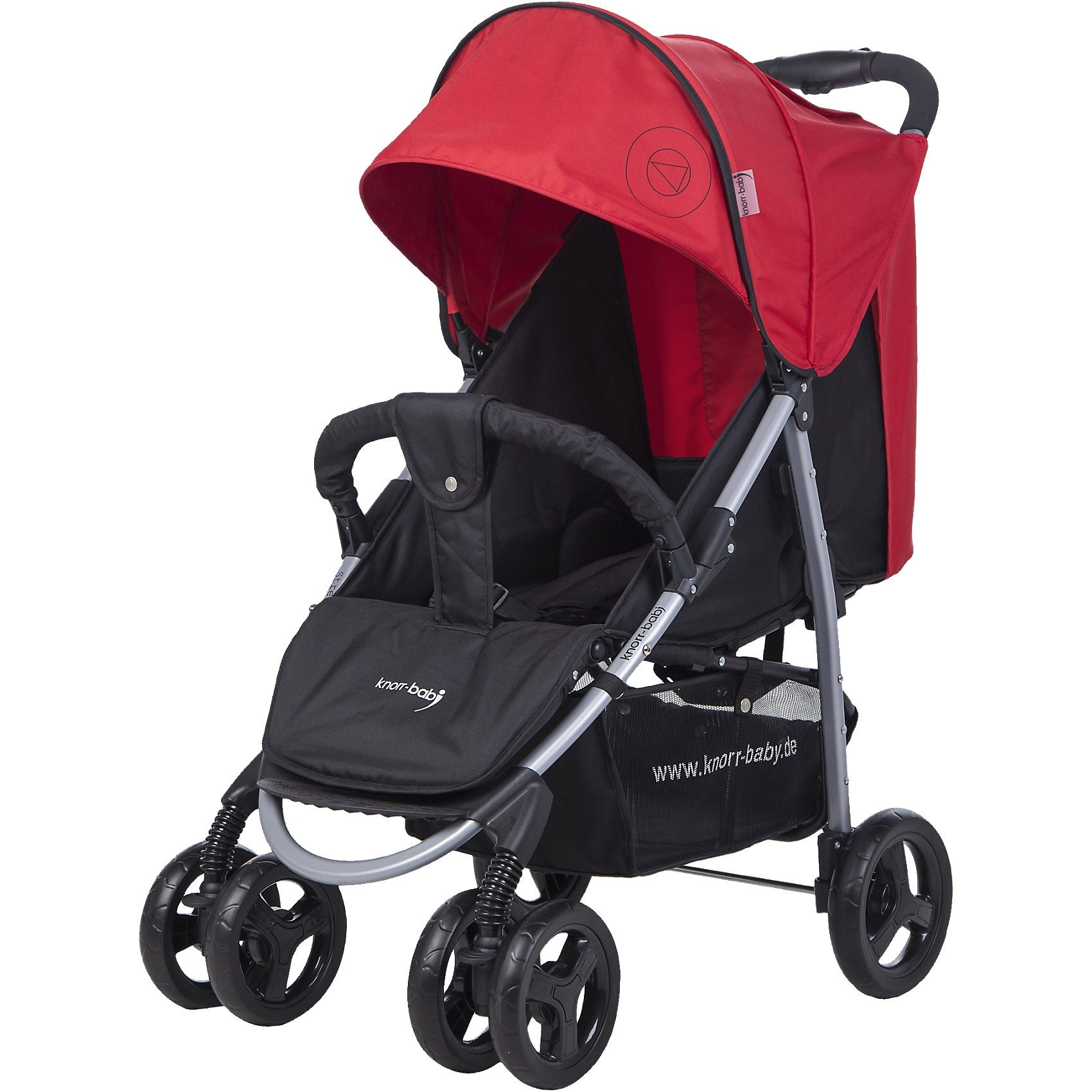 knorr-baby Sportwagen Streeter Happy Colour, rot