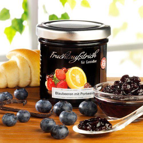 Schrader Fruchtaufstrich Blaubeeren mit Portwein