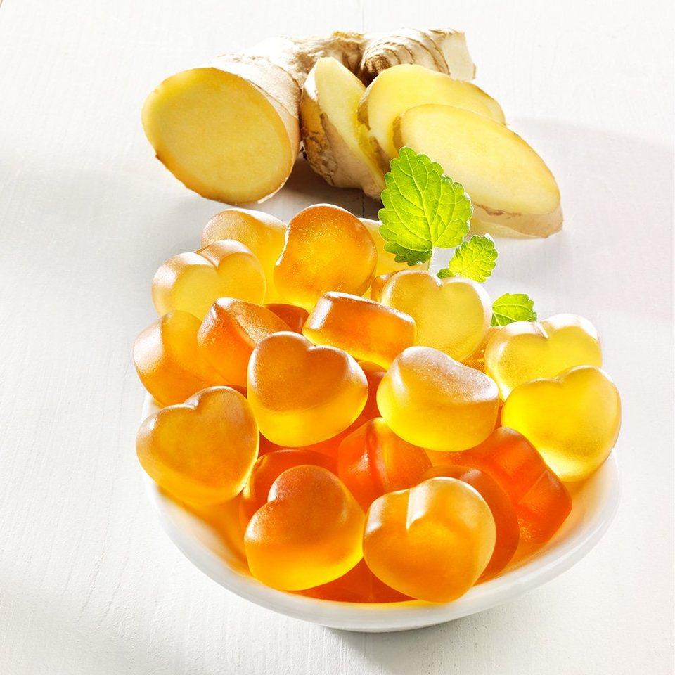 Buderim Ingwer Fruchtgummi Herzen (Packung, 2tlg.)