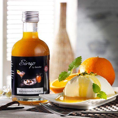 Schrader Sirup mit mallorquinischen Orangen & Tahiti Vanille 200 ml