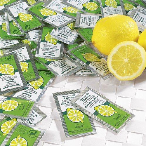 Schrader Zitronensaft-Beutel 100 Stück 100 x 4 ml