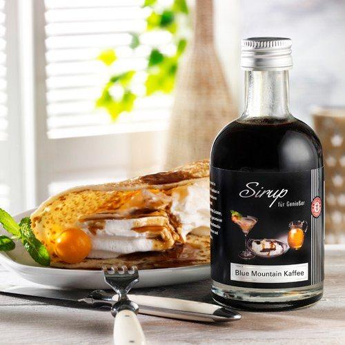 Schrader Sirup mit Blue Mountain Kaffee 200 ml