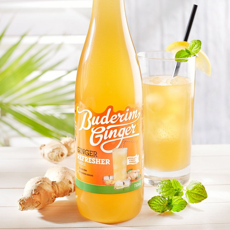 Buderim Buderim Ginger Ingwer-Refresher 750 ml