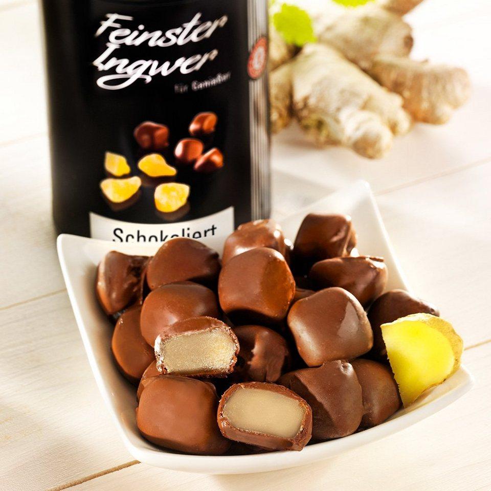 Schrader Ingwer in Zartbitterschokolade