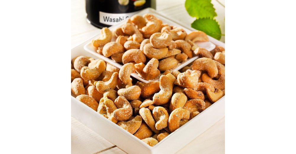 Schrader Wasabi Cashewkerne