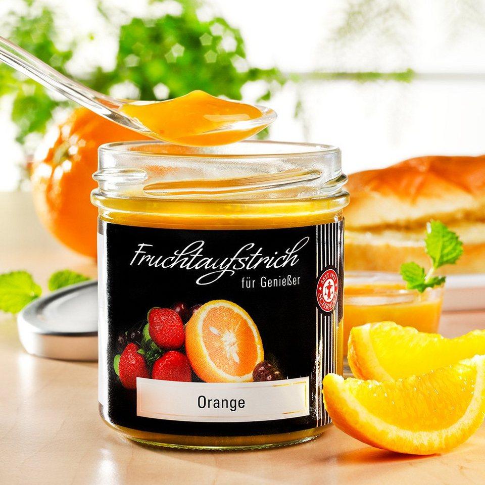 Schrader Fruchtaufstrich Orange