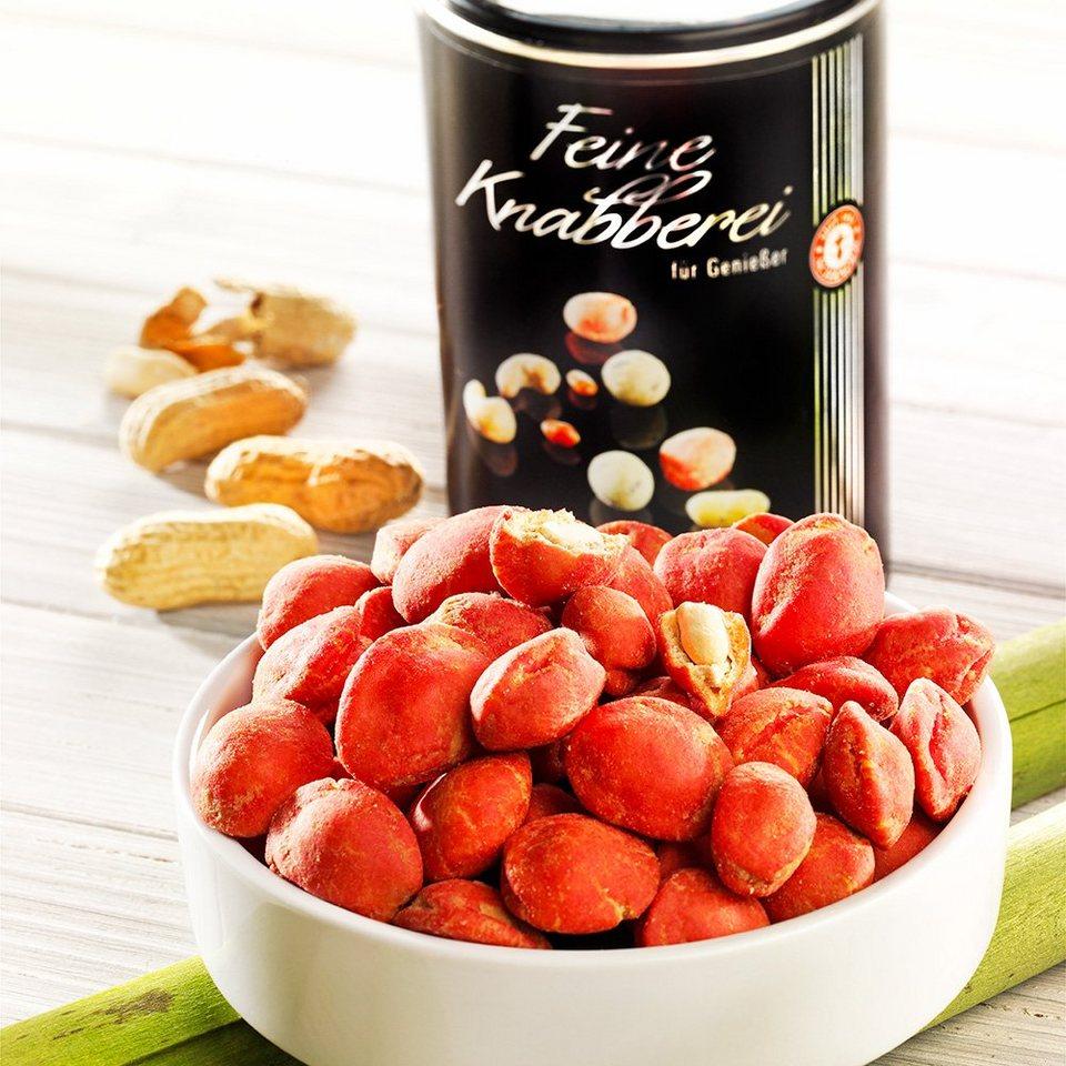 Schrader Rote Wasabi Erdnüsse