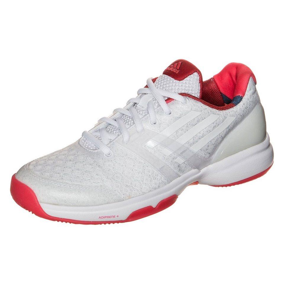 adidas Performance adizero Ubersonic Tennisschuh Damen in weiß / pink