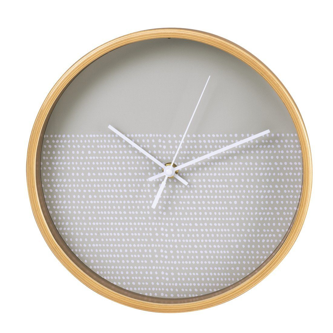 Hama Wanduhr geräuscharme Uhr ohne Ticken, leis...
