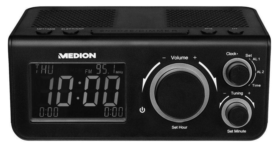 MEDION® PLL Uhrenradio »LIFE® E66323 (MD 43009)«