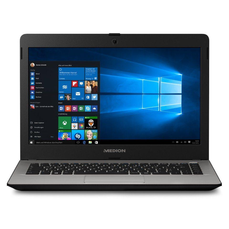 "MEDION® 14"" Notebook AKOYA E4213 »Intel® Pentium® Prozessor N3540, 2GB RAM« in schwarz"