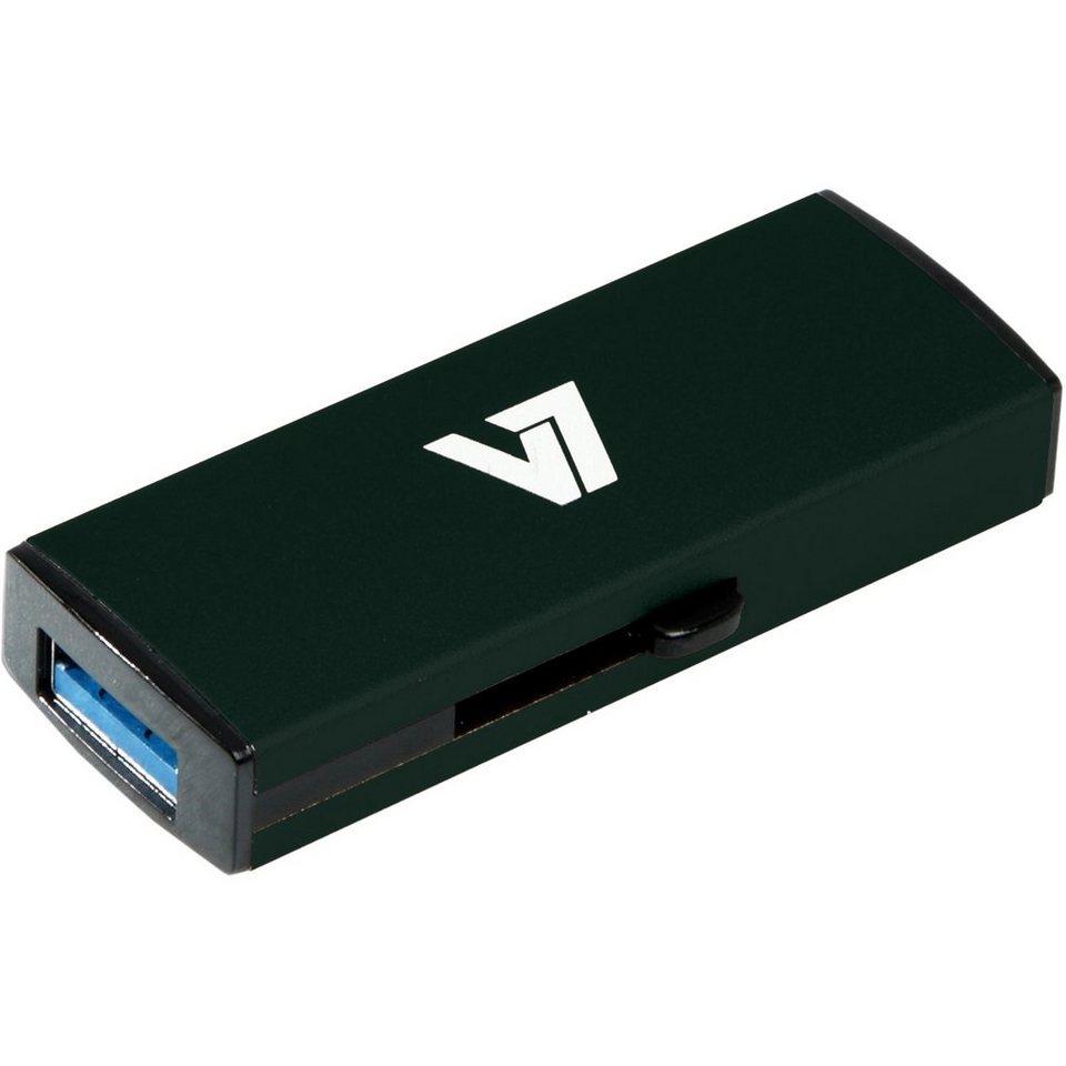 V7 USB-Stick »USB STICK 16GB USB3.0 BLACK«