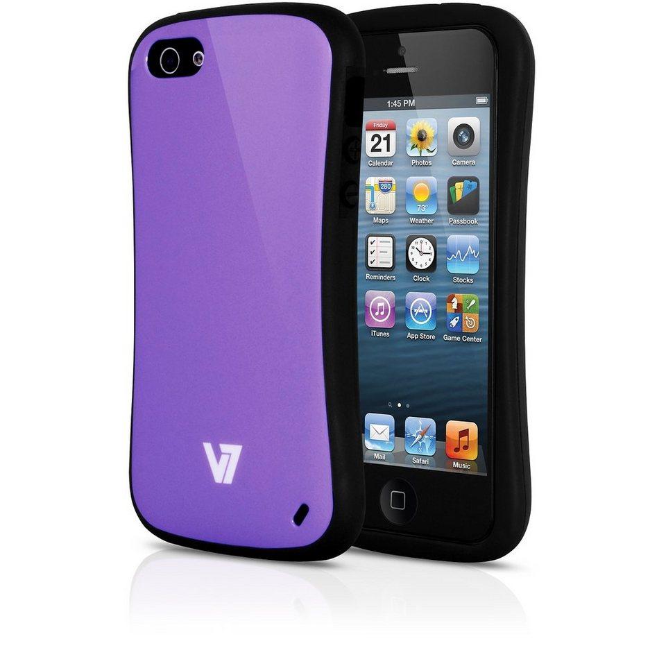 V7 Case »V7 EXTREME GUARD IPHONE 5 PURP«