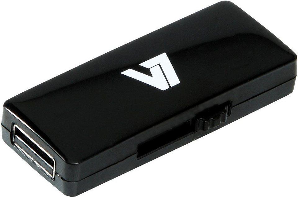 V7 USB-Stick »V7 USB STICK 16GB USB2.0 BLACK«
